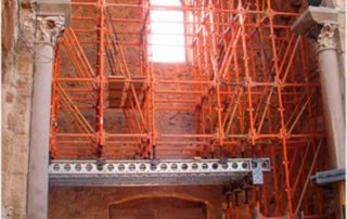 attachments and shoring of facades and walls, SHORING