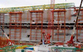 Construcción de estadios, ESTADIOS