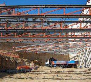 Equipamiento para construcción, PROYECTOS