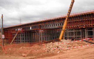construcción de puentes y viaductos, Puentes y viaductos