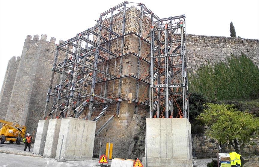 proveedor de estructuras temporales estabilizador torre