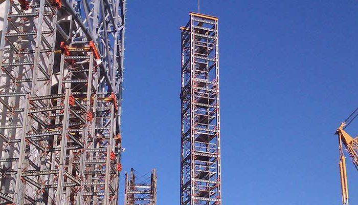 Façade retentions, INCYE Proveedores de estructuras auxiliares2