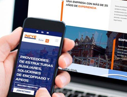 INCYE Ibérica estrena su nueva página web