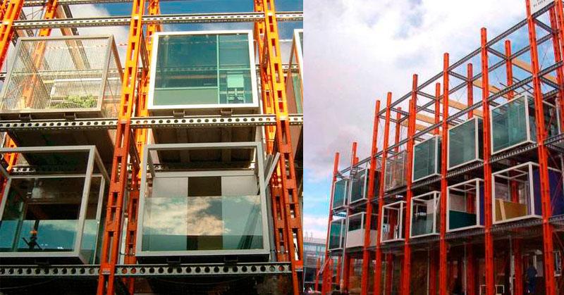 construcciones modulares, Construcciones modulares y/o temporales