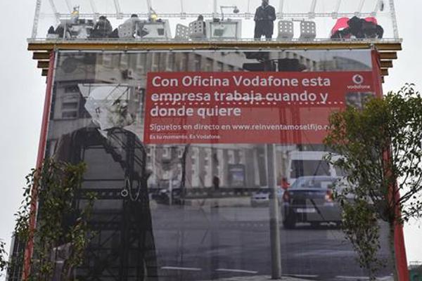 lonas publicitarias en fachadas