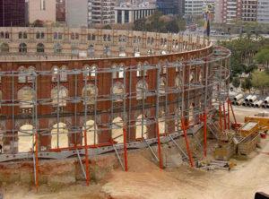 Conservación de fachadas: CC Arenas