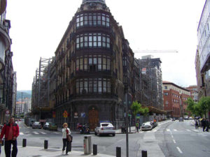conservación de fachadas: Coliseo Albia
