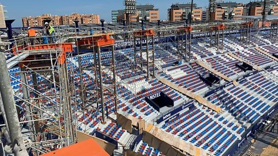 Levante U.D. stadium, Remodeling of the Levante U.D. stadium